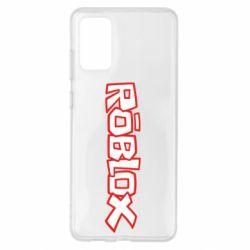 Чохол для Samsung S20+ Roblox logo