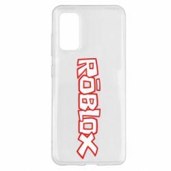 Чохол для Samsung S20 Roblox logo