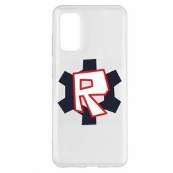 Чохол для Samsung S20 Roblox mini logo