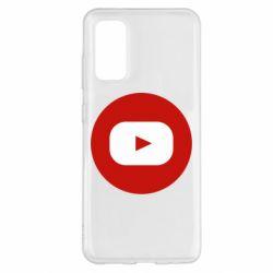 Чохол для Samsung S20 Round logo