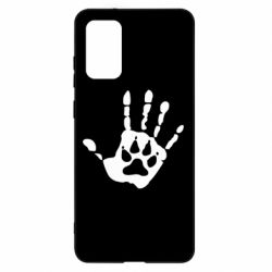 Чехол для Samsung S20+ Рука волка