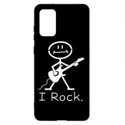 Чохол для Samsung S20+ З гітарою