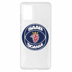 Чехол для Samsung S20+ SAAB Scania