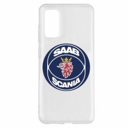 Чехол для Samsung S20 SAAB Scania
