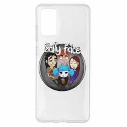 Чехол для Samsung S20+ Sally face soundtrack
