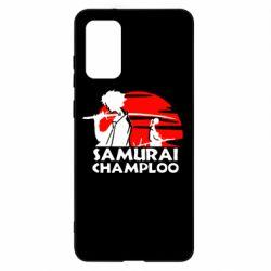 Чохол для Samsung S20+ Samurai Champloo