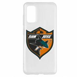 Чохол для Samsung S20 San Jose Sharks