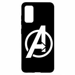 Чохол для Samsung S20 Сaptain Аmerica logo