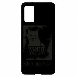 Чохол для Samsung S20+ Schrödinger's cat is wanted
