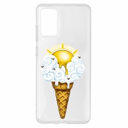 Чохол для Samsung S20+ Sea ice cream