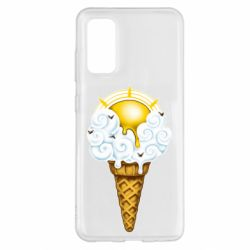 Чохол для Samsung S20 Sea ice cream
