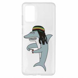 Чохол для Samsung S20+ Shark Rastaman