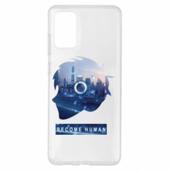 Чохол для Samsung S20+ Silhouette City Detroit: Become Human