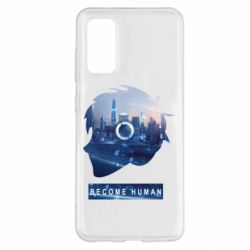 Чохол для Samsung S20 Silhouette City Detroit: Become Human