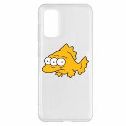 Чехол для Samsung S20 Simpsons three eyed fish