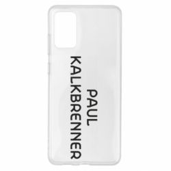Чехол для Samsung S20+ Singer Paul Kalkbrenner