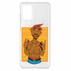 Чохол для Samsung S20+ Singer Tupac Shakur