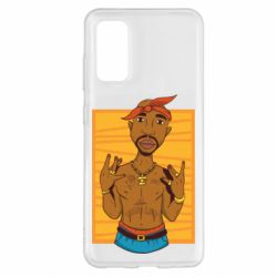 Чохол для Samsung S20 Singer Tupac Shakur