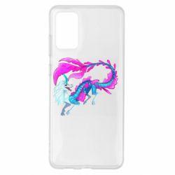 Чохол для Samsung S20+ Sisu Water Dragon