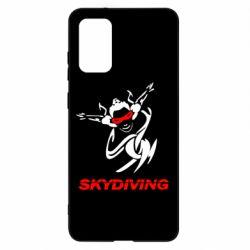 Чохол для Samsung S20+ Skidiving