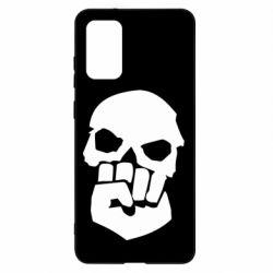 Чехол для Samsung S20+ Skull and Fist