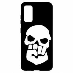 Чехол для Samsung S20 Skull and Fist