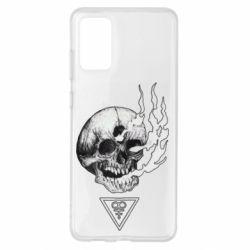 Чохол для Samsung S20+ Smoke from the skull