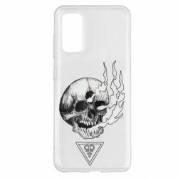Чохол для Samsung S20 Smoke from the skull