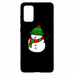 Чохол для Samsung S20+ Сніговик