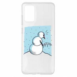 Чохол для Samsung S20+ Snowman. It's Cold!