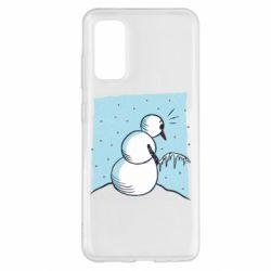 Чохол для Samsung S20 Snowman. It's Cold!