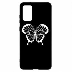 Чохол для Samsung S20+ Soft butterfly
