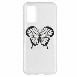 Чохол для Samsung S20 Soft butterfly
