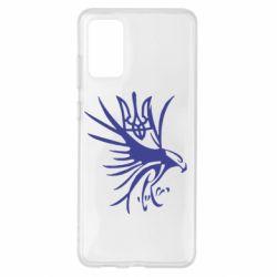 Чохол для Samsung S20+ Сокіл та герб України