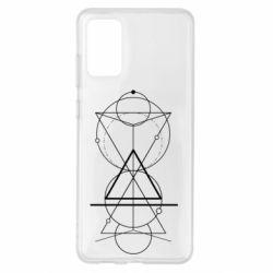 Чохол для Samsung S20+ Сomposition of geometric shapes