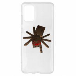 Чохол для Samsung S20+ Spider from Minecraft