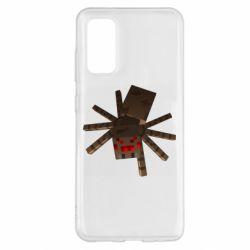 Чохол для Samsung S20 Spider from Minecraft