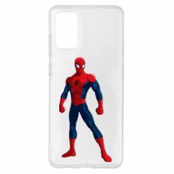 Чохол для Samsung S20+ Spiderman in costume