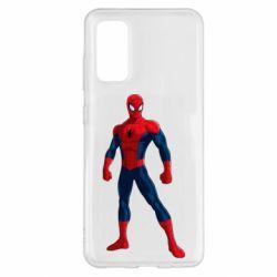 Чохол для Samsung S20 Spiderman in costume