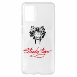 Чохол для Samsung S20+ Steady tiger