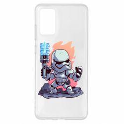 Чохол для Samsung S20+ Stormtrooper chibi