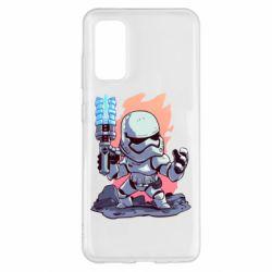 Чохол для Samsung S20 Stormtrooper chibi
