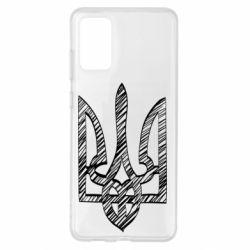 Чехол для Samsung S20+ Striped coat of arms