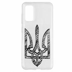 Чехол для Samsung S20 Striped coat of arms