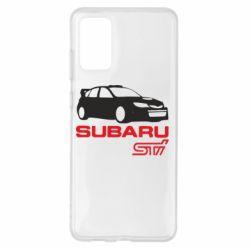 Чохол для Samsung S20+ Subaru STI
