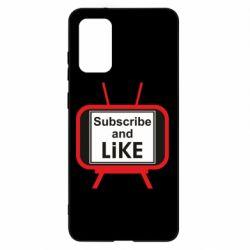 Чохол для Samsung S20+ Subscribe and like youtube