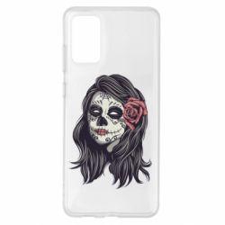 Чохол для Samsung S20+ Sugar girl with a rose
