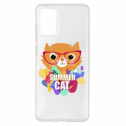Чохол для Samsung S20+ Summer cat