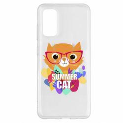 Чохол для Samsung S20 Summer cat
