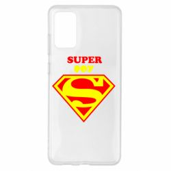 Чохол для Samsung S20+ Super Boy